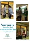 Posters Session EU: institutions and Budget 2014 15
