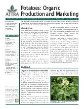 Potatoes: Organic Production and Ma...