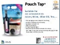 Pouch tap english