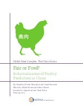 Poultry industry in China 2014