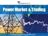 Power Markets & Trading in India