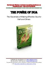 Power of-dua