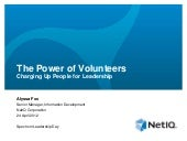 The Power of Volunteers