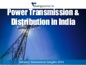 Power Transmission & Distribution in India