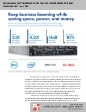 Increasing performance with the Dell PowerEdge FX2 and VMware Virtual SAN