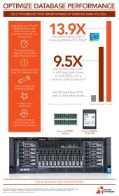 Dell PowerEdge R930 with Oracle: The benefits of upgrading to Samsung NVMe PCIe storage - Infographic