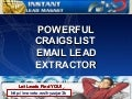 Powerful Craigslist Email Lead Extractor
