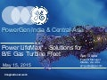 Power LifeMax* - Solutions forB/E Gas Turbine Fleet