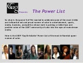 The Power List