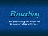Power of Branding - Dr. Robert Rist...