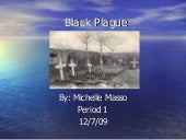 Black Plague and Alchemy