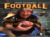 0844892 Madden Football: The Evolut...