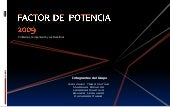 Power Point   Factor De Potencia