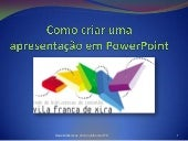 Power point criar_biblioteca_vf_xira