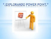 Explorando Powerpoint