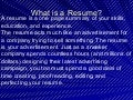 Power point dos_and_donts_of_resume_writing (1)
