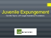 Expungement Talk from LAF