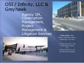 OSI / Infinity LLC ,Power point