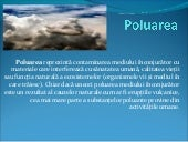 Power point poluare.