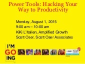 Productivity Power Tools