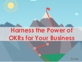 Power Your Business with OKRs