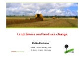 Land tenure and land use change
