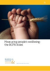 Measuring people's wellbeing: the B...