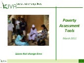 Poverty Assessment Tools presentation