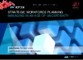 PPMA Annual Seminar 2015 - The Future of HR strategic workforce planning