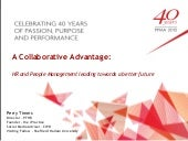 PPMA Annual Seminar 2-15 - A Collaborative Advantage