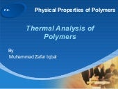 Ppp  Dsc 1 Thermal Analysis  Fundam...