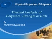 Ppp  Dsc 2 Thermal Analysis Applica...