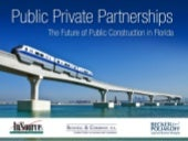 Public Private Partnerships in Florida