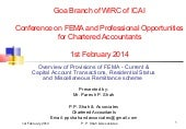 GOA - WIRC - Overview of Provisions...