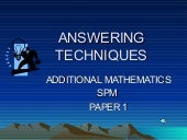 Pp smi add. maths paper 1