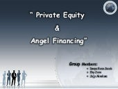 private equity and angel financing