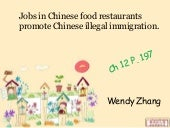 Jobs in Chinese food restaurants pr...