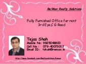 Fully Furnished Office for rent@3rd...