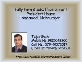 Fully Furnished Office on rent @Pre...
