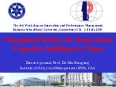 Paper 1: Changing Policy for Innova...