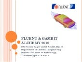 Fluent and Gambit Workshop