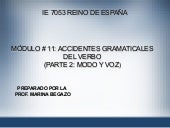 Ppt Accidentes Gram Verbo