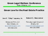 Green Law for Real Estate_Green Leg...