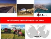 Investment opportunities peru agend...
