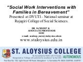 Social Work Interventions with Fami...