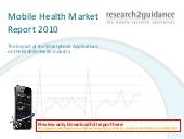 Ppt slides for 'mobile health marke...