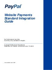 PayPal Website Payments Standard In...