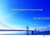 The path ahead for property portals