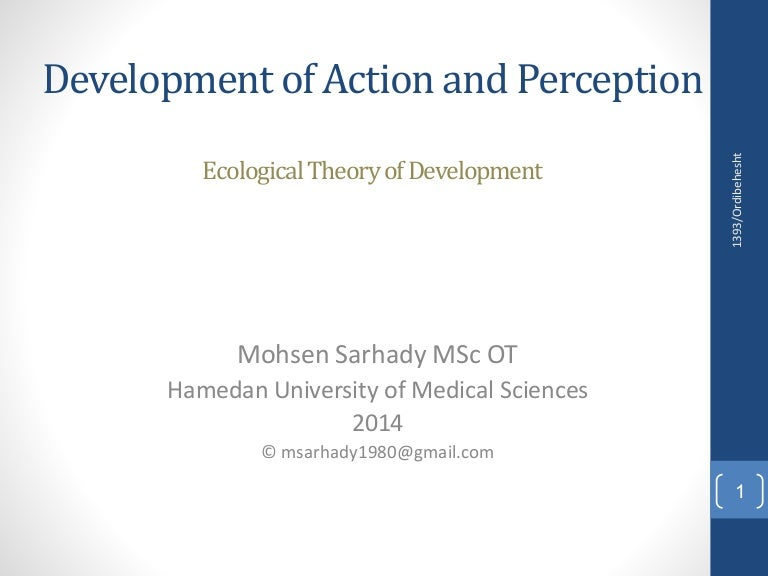 Perception and Action in Development