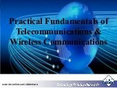 Practical Fundamentals of Telecommunications and Wireless Communications